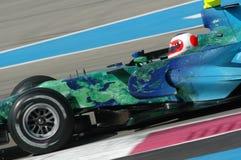F1 2007 - Rubens Barrichello Honda Stock Foto
