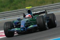 F1 2007 - Rubens Barrichello Honda Stock Photo