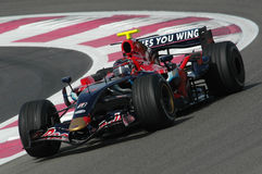 F1 2007 - Scott Speed Toro Rosso Stock Photography