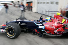 F1 2007 - Sebastien Bourdais Toro Rosso Stock Photo