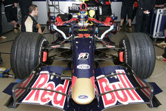 F1 2007 - Sebastien Bourdais Toro Rosso Stock Photos
