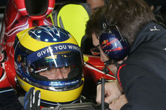 F1 2007 - Sebastien Bourdais Toro Rosso Royalty Free Stock Images