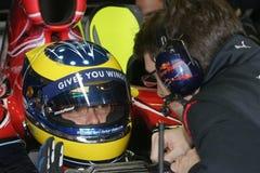 F1 2007 - Sebastien Bourdais Toro Rosso Royalty Free Stock Images