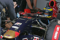 F1 2007 - Sebastien Bourdais Toro Rosso Stock Photo