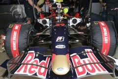 F1 2007 - Sebastien Bourdais Toro Rosso Royalty Free Stock Image