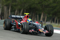 F1 2007 - Sebastien Bourdais Toro Rosso Royalty Free Stock Photos