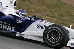 F1 2007 - Sebastien Vettel BMW Sauber Stock Image