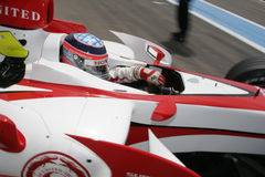 F1 2007 - Takuma Sato Super Aguri Royalty Free Stock Images