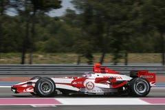 F1 2007 - Takuma Sato Super Aguri Stock Images