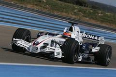 F1 2007 - Timo Glock BMW Sauber Fotografering för Bildbyråer
