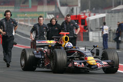 F1 2008 - David Coulthard Red Bull Stock Photo