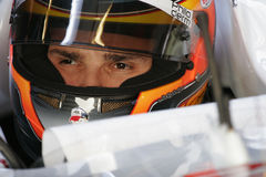F1 2008 - Força India de Vitantonio Liuzzi Fotos de Stock Royalty Free