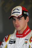 F1 2008 - Force Inde d'Adrian Sutil photographie stock