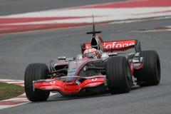 F1 2008 - Heikki Kovalainen McLaren Stock Image