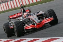 F1 2008 - Heikki Kovalainen McLaren Royalty Free Stock Image