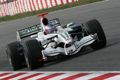 F1 2008 - Jenson Button Honda Stock Photography