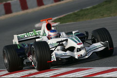 F1 2008 - Jenson Button Honda Stock Photos