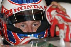 F1 2008 - Jenson Button Honda Stock Images