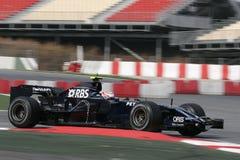 F1 2008 - Kazuki Nakajima Williams Stock Photography
