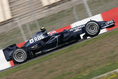 F1 2008 - Kazuki Nakajima Williams Stock Images