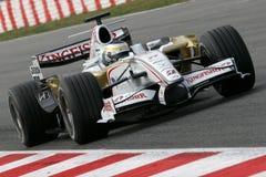 F1 2008 - Kraft Indien Giancarlo-Fisichella Lizenzfreie Stockbilder