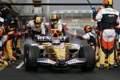 F1 2008 - Le Nelson Piquet Renault Photo libre de droits