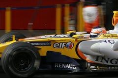 F1 2008 - Le Nelson Piquet Renault Image stock