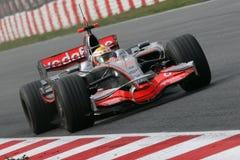 F1 2008 - Lewis Hamilton McLaren Stock Images