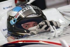 F1 2008 - Nick Heidfeld BMW Sauber. Nick Heidfeld, BMW Sauber F108, during Formula One test in Barcelona - February 2008 Stock Image