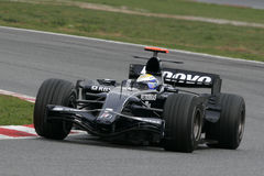 F1 2008 - Nico Rosberg Williams Lizenzfreie Stockfotos