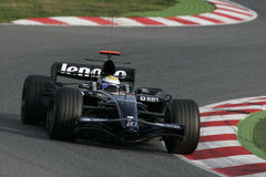 F1 2008 - Nico Rosberg Williams stock images