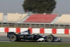 F1 2008 - Nico Rosberg Williams Imagem de Stock