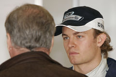 F1 2008 - Nico Rosberg Williams Image stock