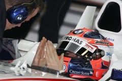 F1 2008 - Robert Kubica BMW Sauber Stock Images