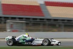 F1 2008 - Rubens Barrichello Honda Fotografia de Stock