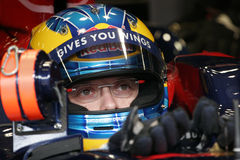 F1 2008 - Sebastien Bourdais Toro Rosso Photos stock