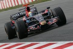 F1 2008 - Sebastien Bourdais Toro Rosso Stock Image