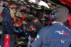 F1 2008 - Sebastien Bourdais Toro Rosso Royalty Free Stock Photo