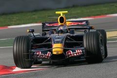 F1 2008 - Sebastien Vettel Red Bull Stock Image