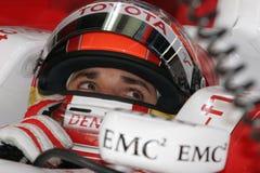 F1 2008 - Timo Glock Toyota stock photo