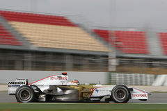 F1 2008 - Vitantonio Liuzzi Force India Royalty Free Stock Photo