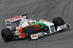 F1 2009 - Adrian Sutil Force India Royalty Free Stock Photography