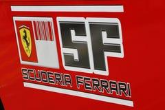 F1 2009 - Atmospere de Scuderia Ferrari Foto de Stock Royalty Free