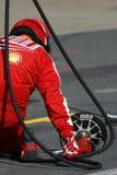 F1 2009 - Atmospere de Scuderia Ferrari Imagens de Stock Royalty Free