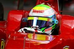 F1 2009 - Felipe Massa Ferrari. Felipe Massa, Ferrari F60, during Formula One test in Barcelona - March 2009 Stock Photography