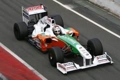 F1 2009 - Forza India del Adrian Sutil Fotografie Stock