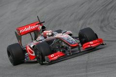 F1 2009 - Heikki Kovalainen McLaren Stock Photography