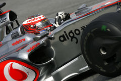 F1 2009 - Heikki Kovalainen McLaren Royalty Free Stock Photos