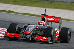 F1 2009 - Heikki Kovalainen McLaren Royalty Free Stock Photo