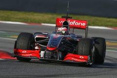 F1 2009 - Heikki Kovalainen McLaren Stock Photos